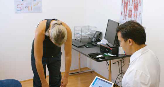 ViMove wearable Sensor Technology and measuring Spinal Flexibility