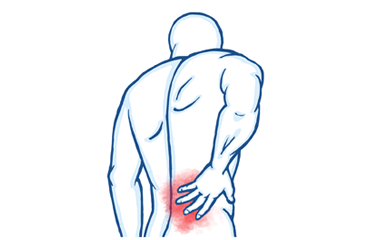 Back pain and non-specific lower back pain